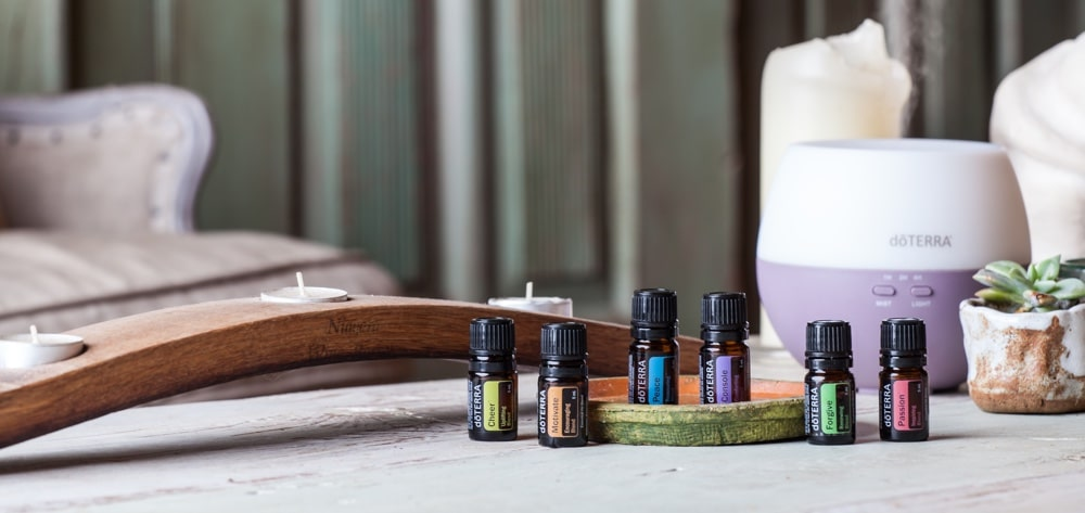 Emotional Aromatherapy Set mit Diffuser