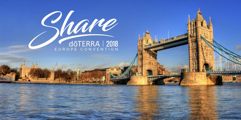 doTERRA Europe Convention 2018 in London